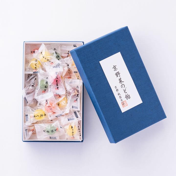 京野菜のど飴詰合せ(1箱 28粒入)