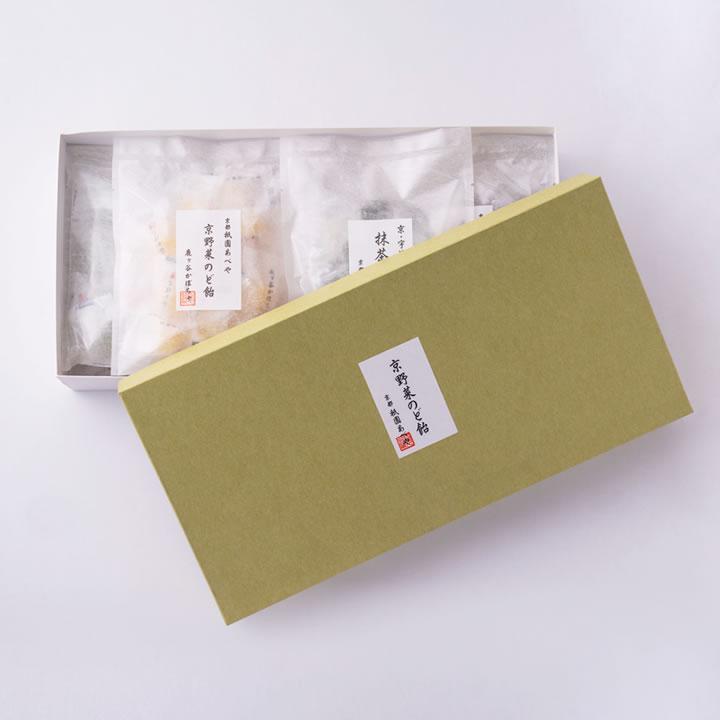 京野菜のど飴8種詰合せ(各種12粒入り)